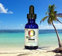 Irie CBD bottle