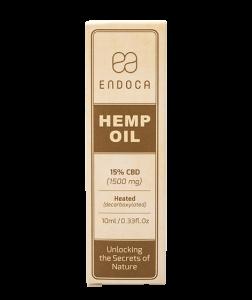 endoca cbd oil bottle label