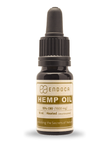endoca hemp cbd oil bottle