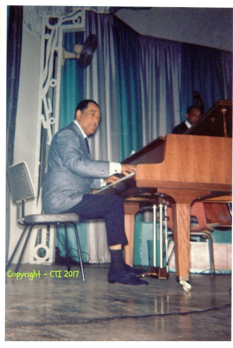 Duke Ellington performing at Steel Pier in Atlantic City in the 1960's