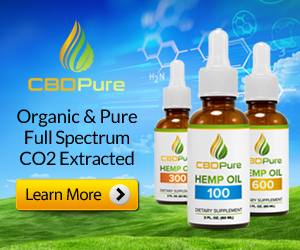 Organic, Pure, and Full Spectrum plus CO2 Extracted