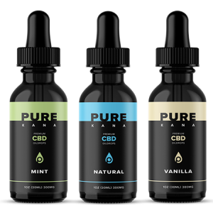 PureKana CBD Oil bottle